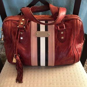 L.A.M.B. Leather Satchel